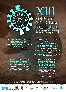 XIII edició del Cicle de Música Sacra a la Rectoria