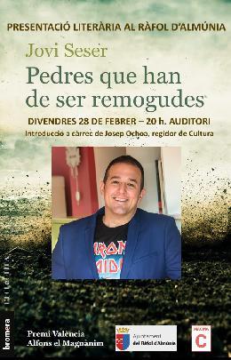"""Presentació llibre """"Pedres que han de ser remogudes"""""""
