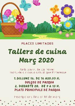 Tallers de cuina-Març 2020