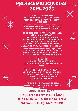 Programació Nadal 2019-2020