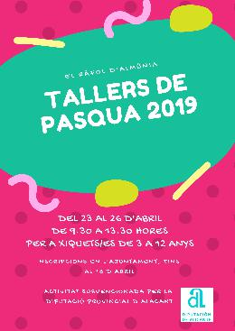 Tallers de Pasqua 2019