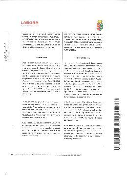 Acord de col·laboració entre LABORA Servei Valencià d'Ocupació i Formació i l'Ajuntament del Ràfol d'Almúnia per a la prestació conjunta de serveis d'intermediació laboral mitjançant la implantació del servei Punt Labor