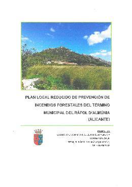 Pla Local de Prevenció d'Incendis Forestals (PLPIF)