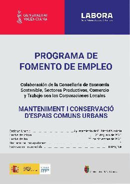 PROGRAMA DE FOMENT DE L'OCUPACIÓ EMCORP 2021