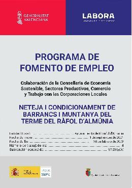 PROGRAMA DE FOMENT DE L'OCUPACIÓ EMERGE 2021
